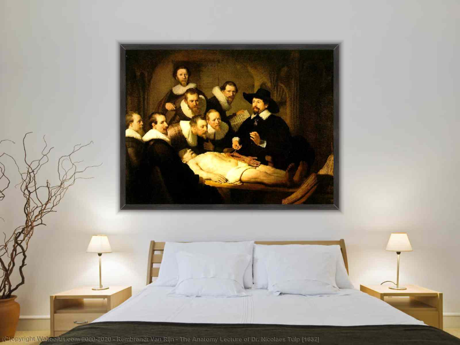 The Anatomy Lecture of Dr. Nicolaes Tulp [1632] by Rembrandt Van Rijn