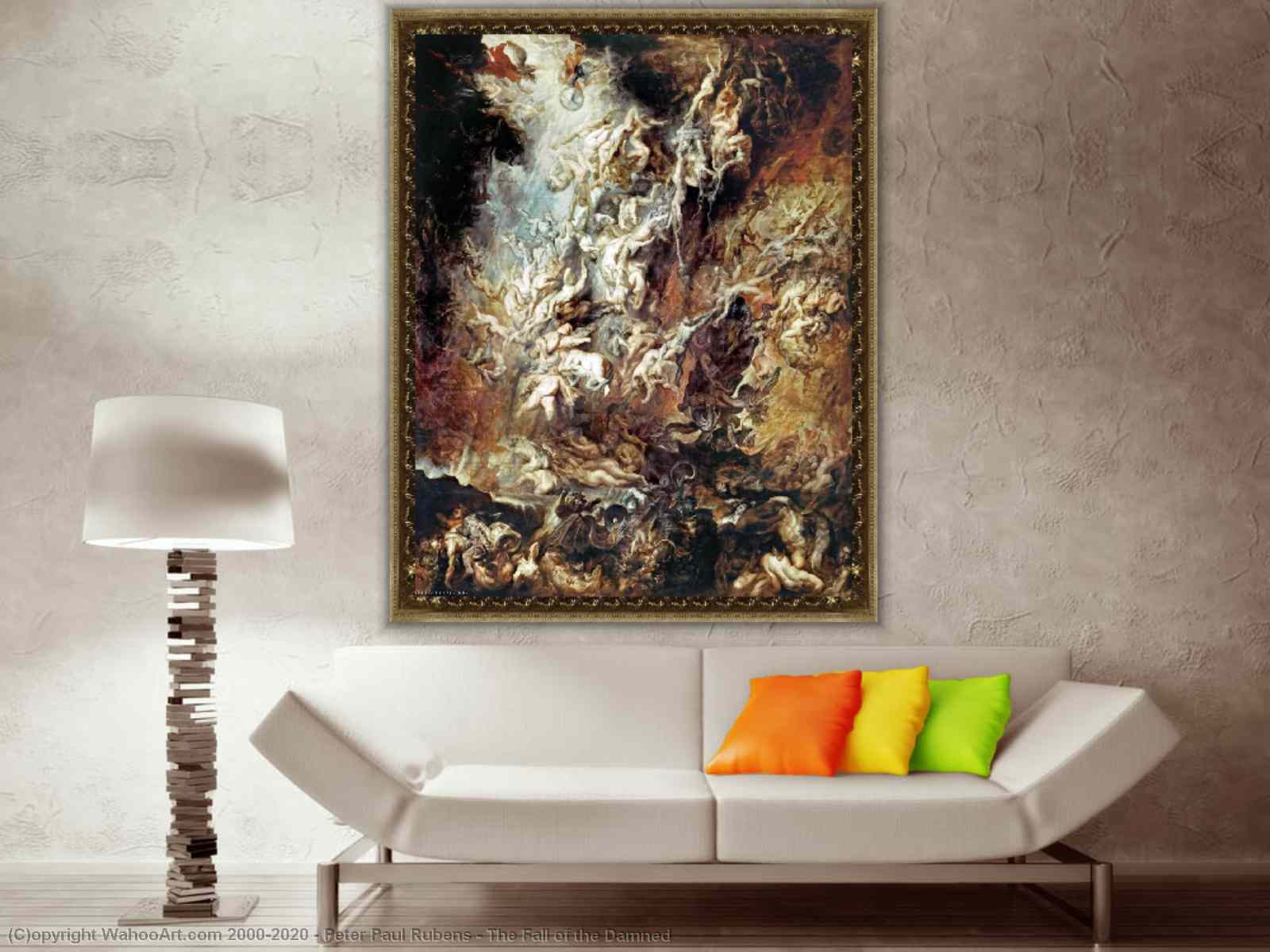 The Fall Of The Damned Painting