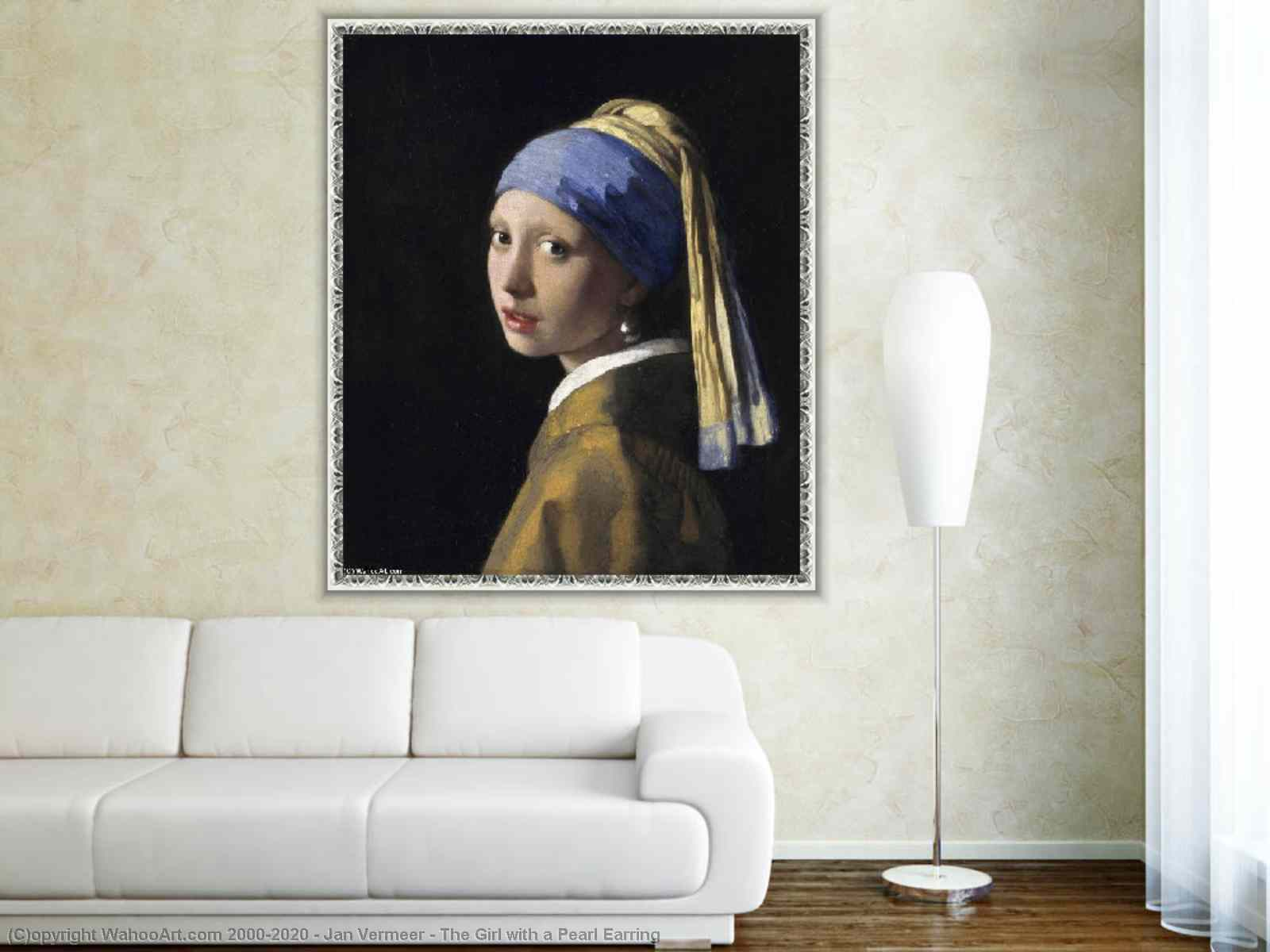 The Girl with a Pearl Earring by Jan Vermeer