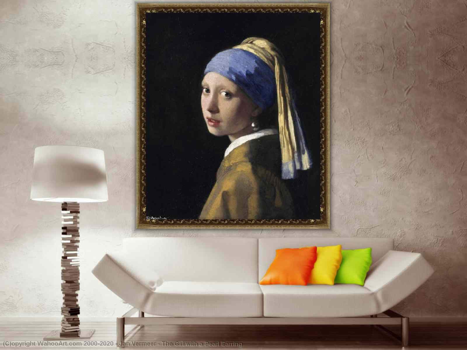 The Girl with a Pearl Earring by Jan Vermeer | Museum Art